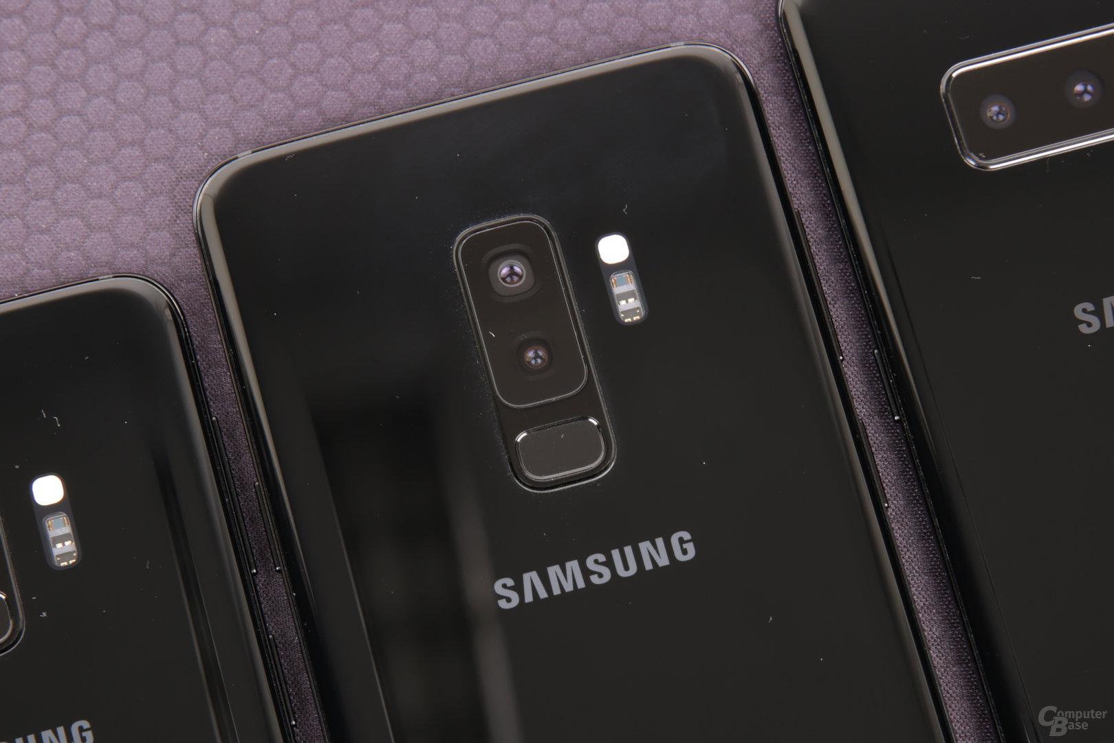 Dual-Kamera exklusiv für das Galaxy S9+