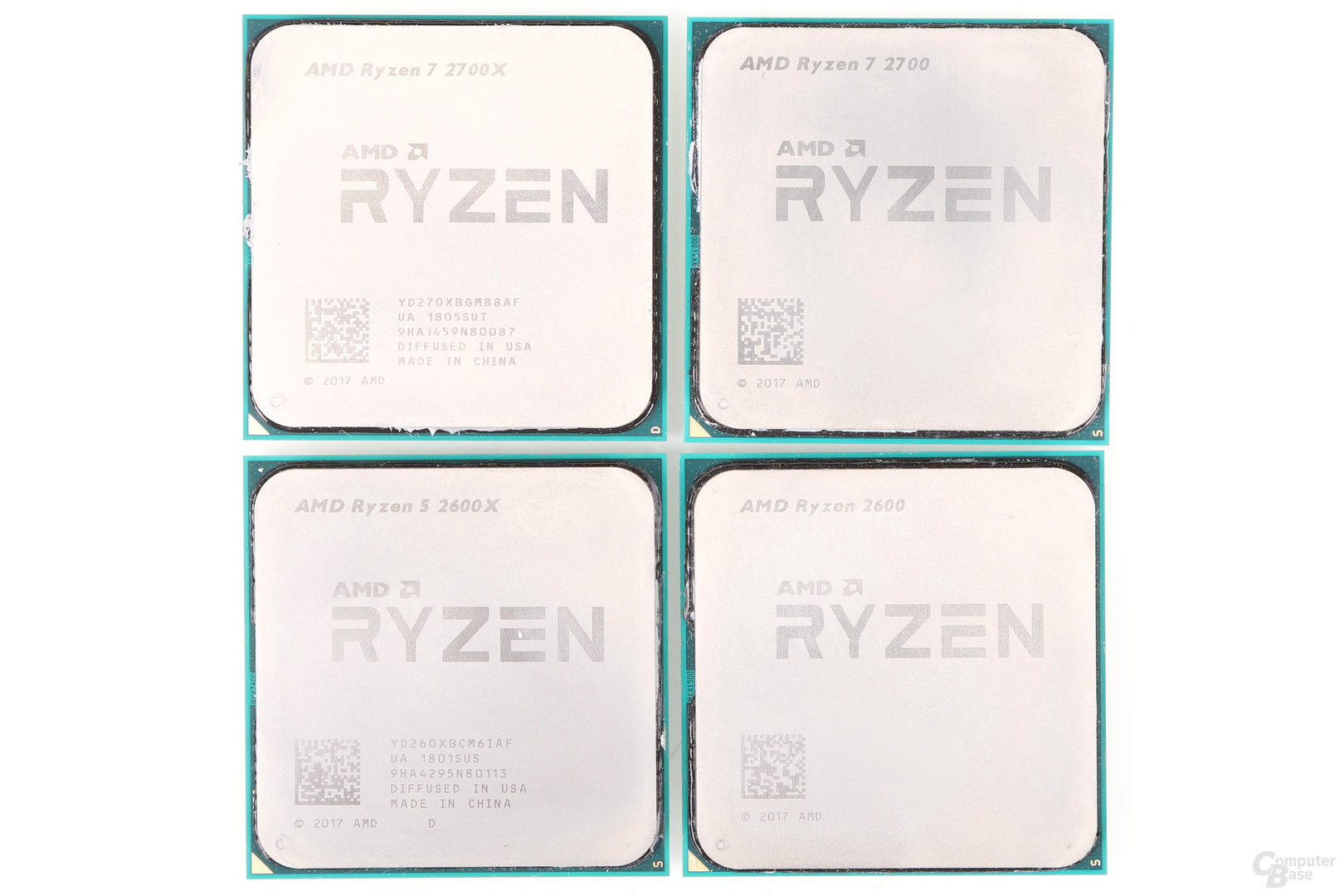 AMD Pinnacle Ridge: Ryzen 7 2700(X) und Ryzen 5 2600(X)
