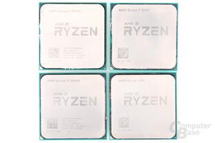 AMD Pinnacle Ridge: Ryzen 7 2700(X) und Ryzen 5 2600(X)