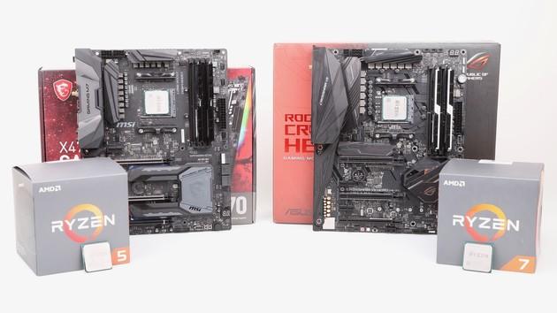 AMD Ryzen 2000 im Test: Ryzen 5 2600 in Spielen schneller als Ryzen 7 1800X