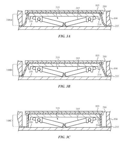 Patent beschreibt dichte MacBook-Taster