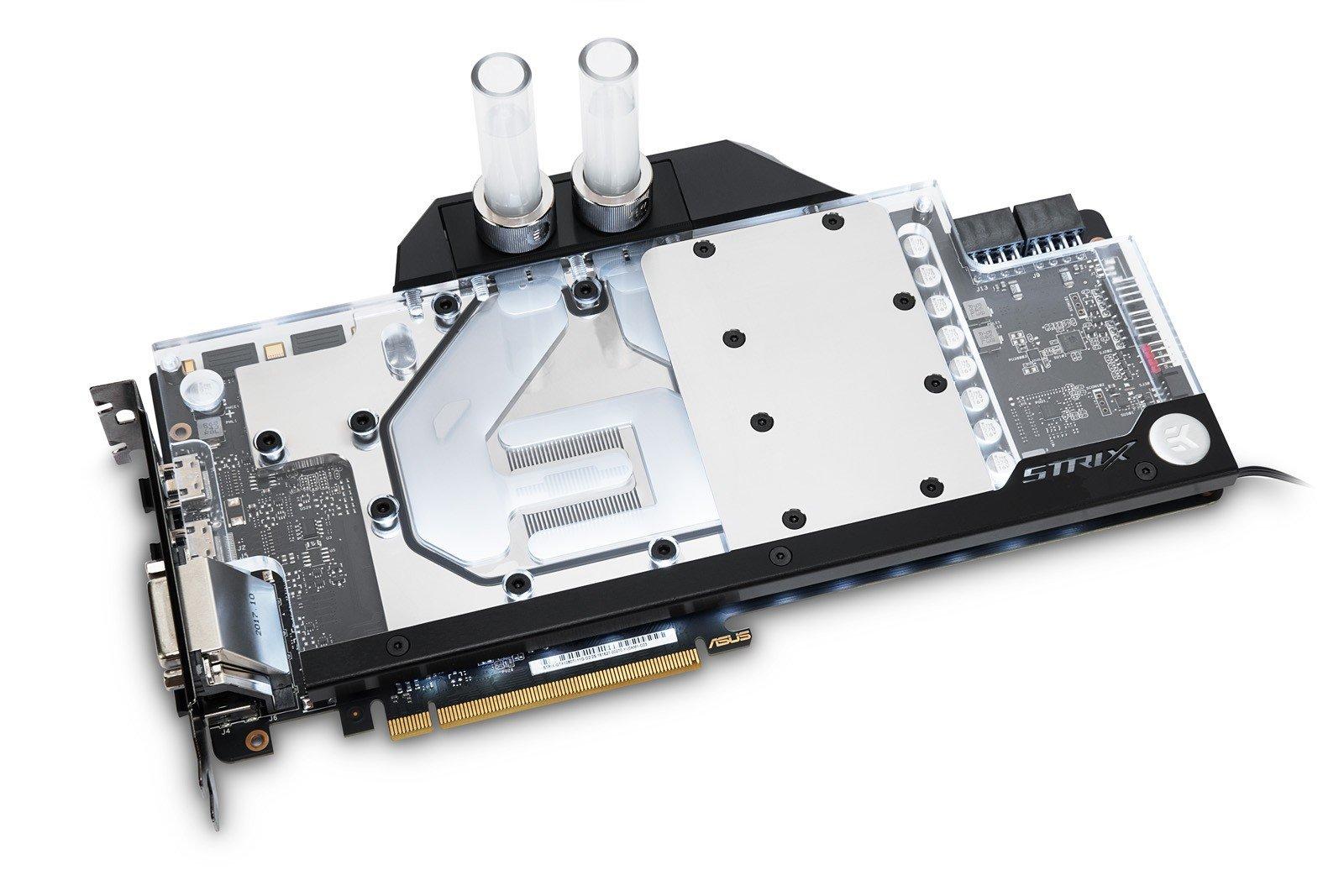 EK Water Blocks Wakü für Asus GeForce GTX 1080 Ti Strix
