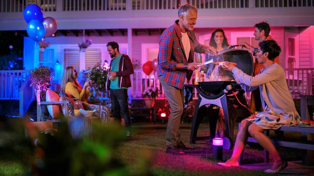 Philips bestückt Hue-Sortiment mit Outdoor-Lampen