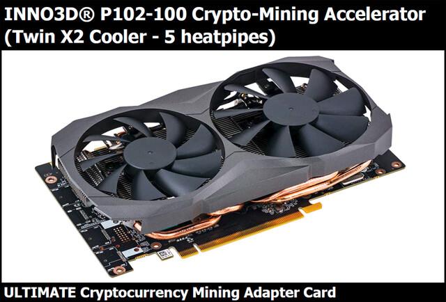 Inno3D P102-100 als Mining-Beschleuniger