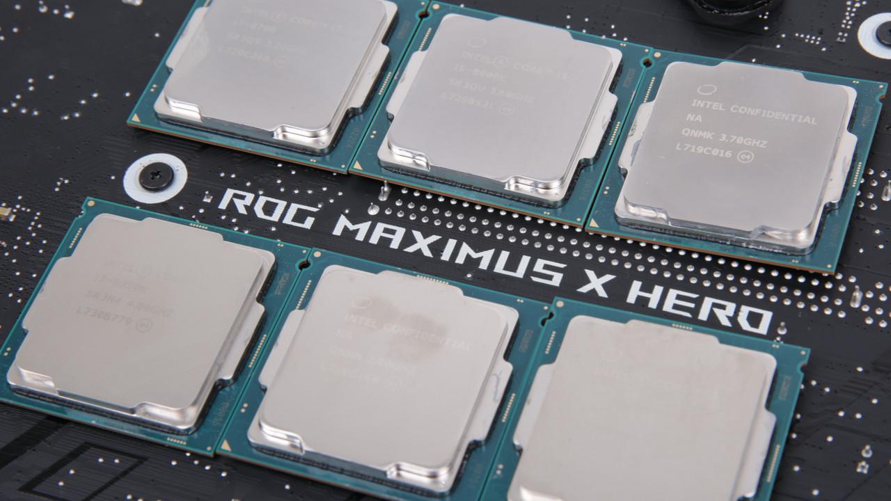 Coffee Lake: Dual- und Quad-Core-CPUs mit neuem U0-Stepping