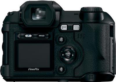 Fuji S5500 Rückansicht