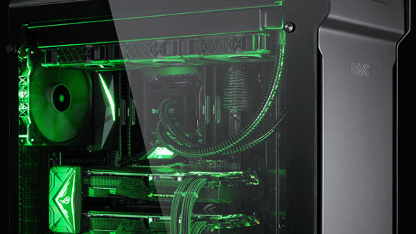 Schenker XMG Trinity: Gaming-PCs mit AMD Ryzen oder Intel Core i