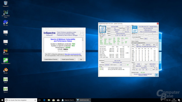 Nach dem Windows Update ist Coffee Lake dank Microcode x84 gegen Spectre 2 abgesichert