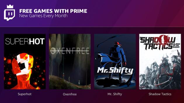 Twitch: Gratis-Spiele für Amazon-Prime-Kunden