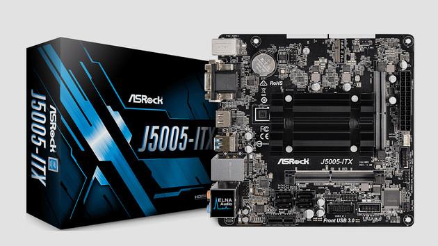 ASRock J5005-ITX: Erstes Mainboard mit dem silbernen Pentium
