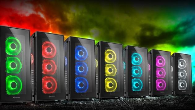 Sharkoon TG5 RGB: Glas-Tower erhält RGB-Beleuchtung
