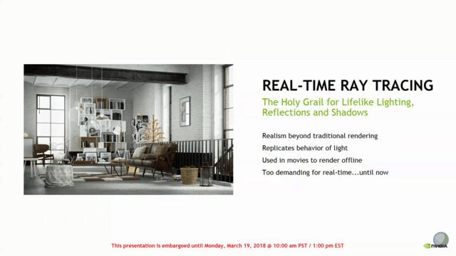 Nvidia RTX für DirectX Raytracing