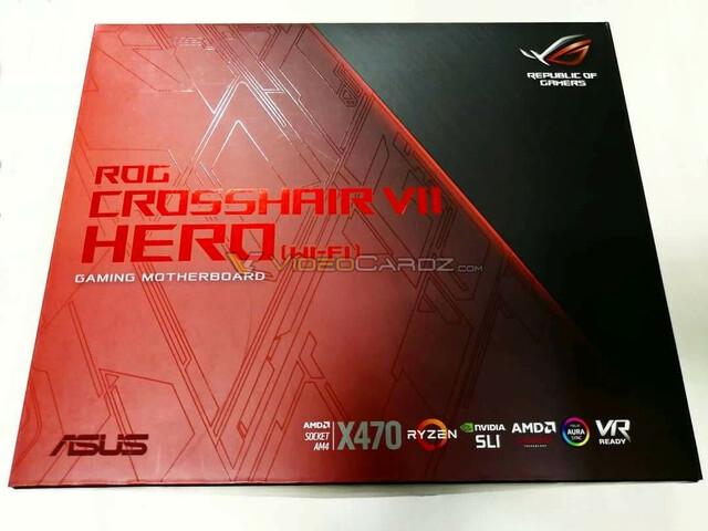 Asus ROG X470Crosshair Hero VII