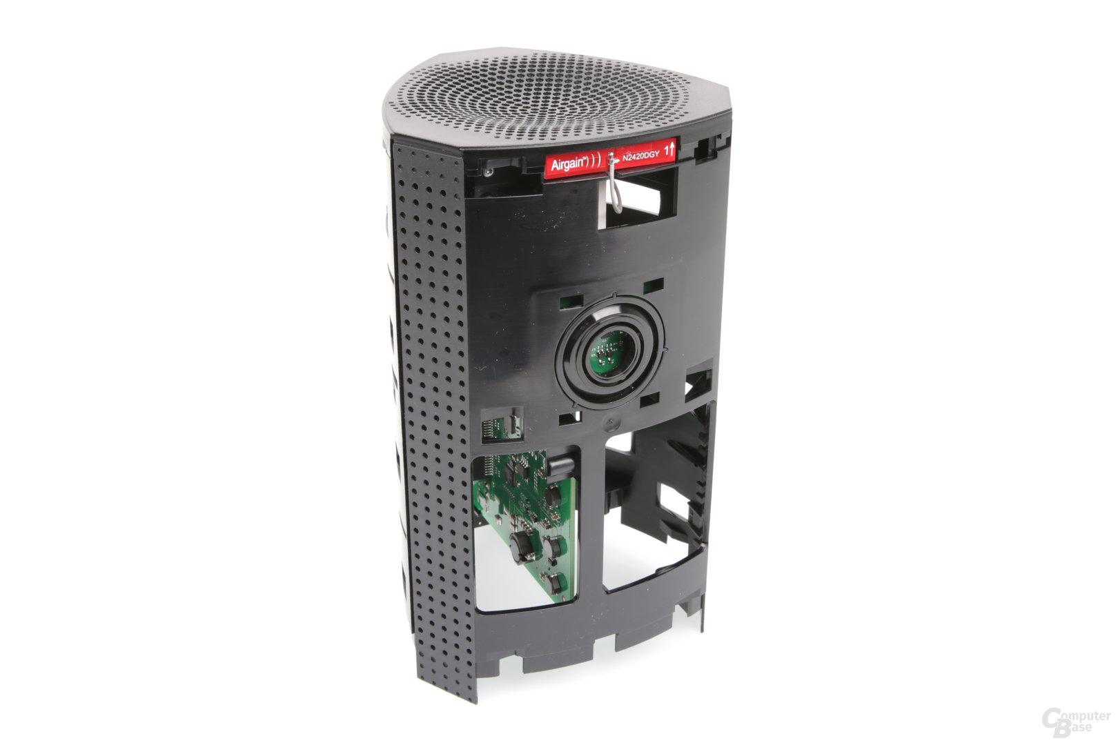 Bitdefender Box – LED-Ring und WLAN-Antennen
