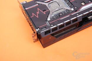Sapphire Radeon RX Vega 56 Pulse – BIOS-Schalter