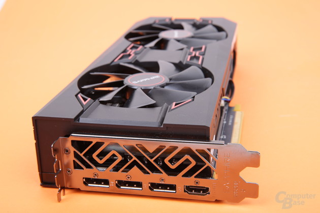 Sapphire Radeon RX Vega 56 Pulse – Monitoranschlüsse