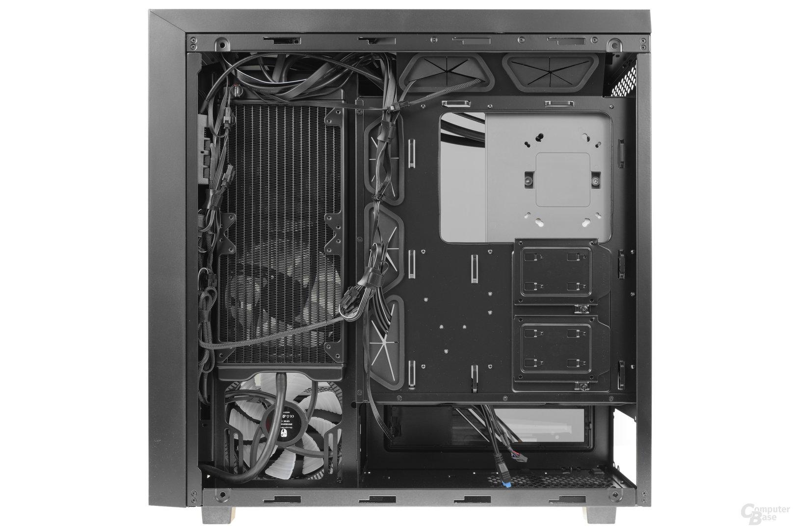 Deepcool New Ark 90 – Innenraumansicht Rückseite