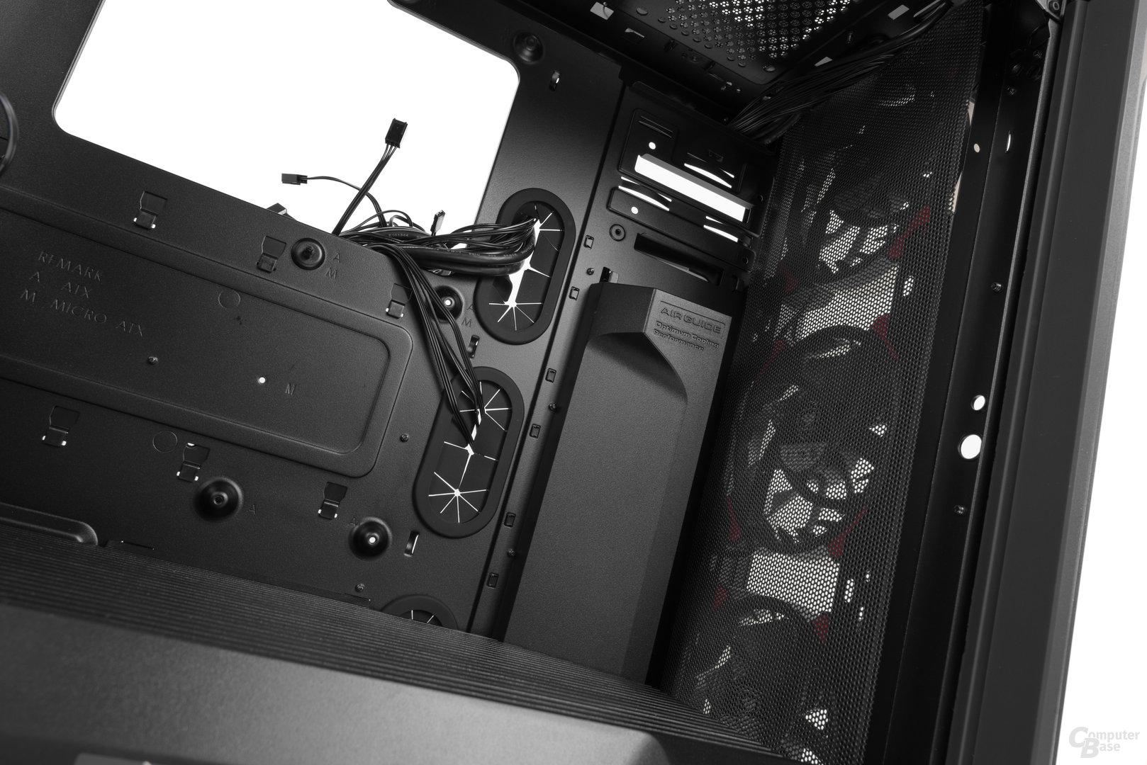 Cougar Panzer Evo – Innenraumansicht Detail