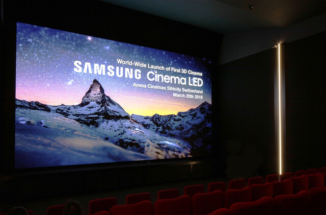Samsung Cinema LED in Zürich