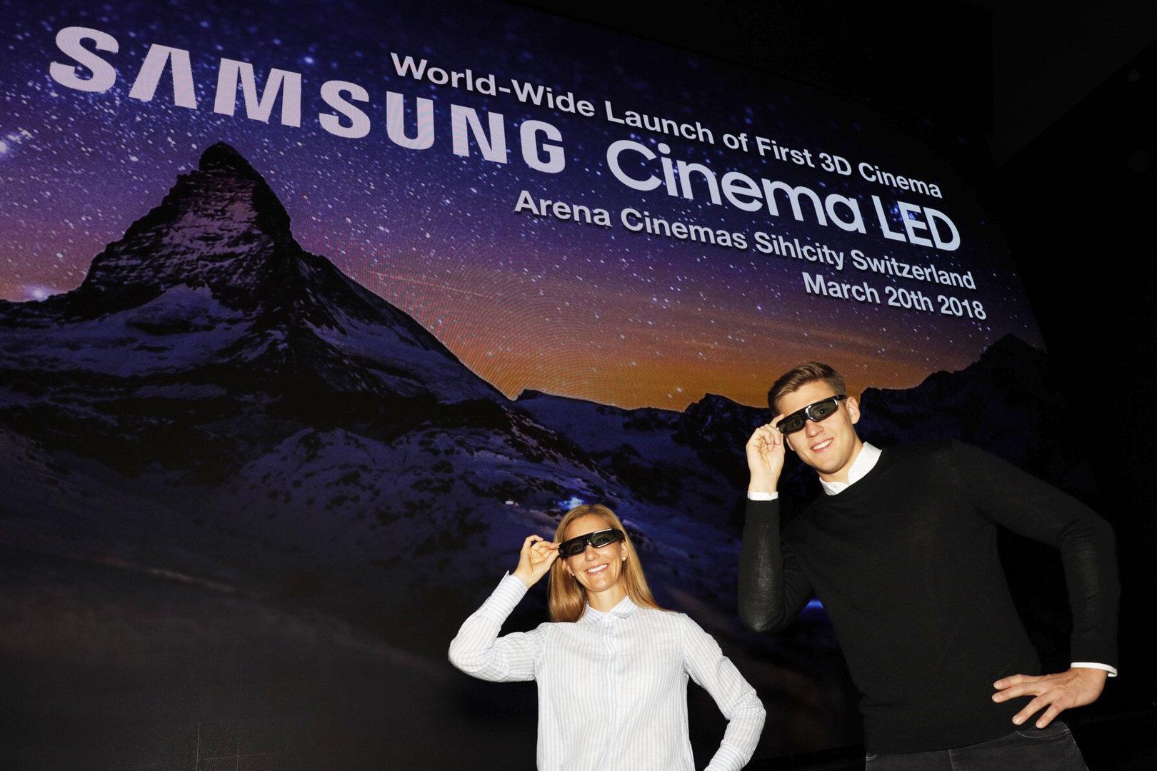 Samsung Cinema LED in Zürich