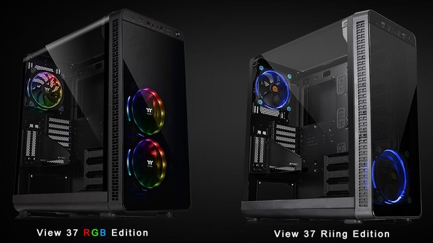 Thermaltake View 37: Flügeltür-Design in neuer Revision