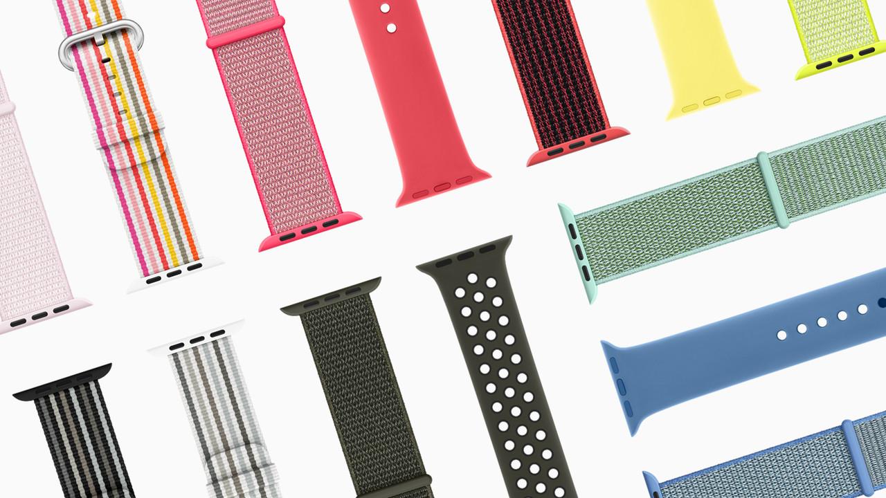 Apple Watch: Neue Armbänder für den Frühling