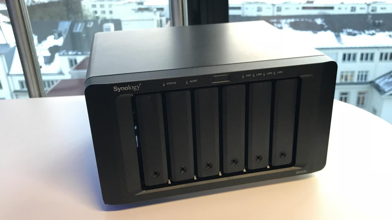 Synology DS1618+: 6-HDD-NAS mit Intel C3538 für über 30 % mehr Durchsatz