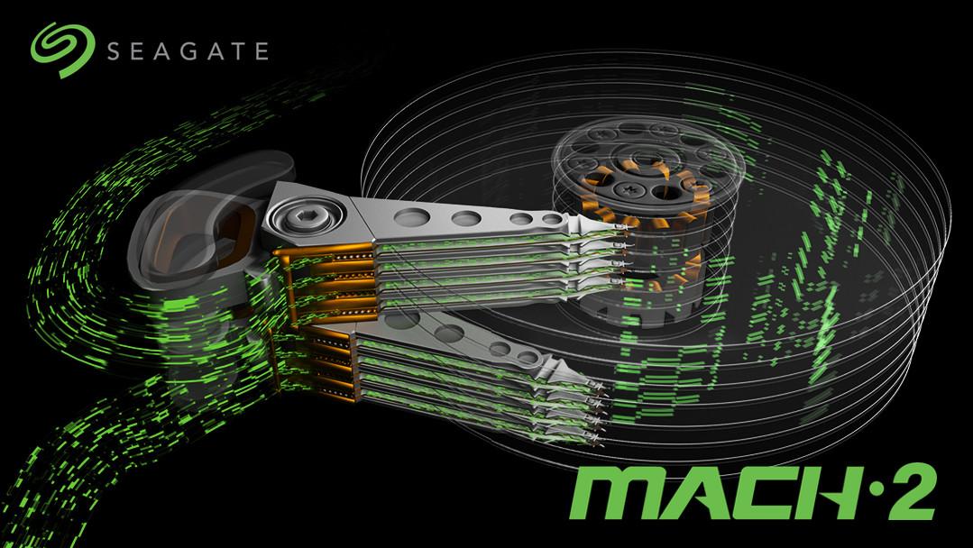 Seagate Mach.2: Festplatte mit autonomen Köpfen erreicht 480 MByte/s