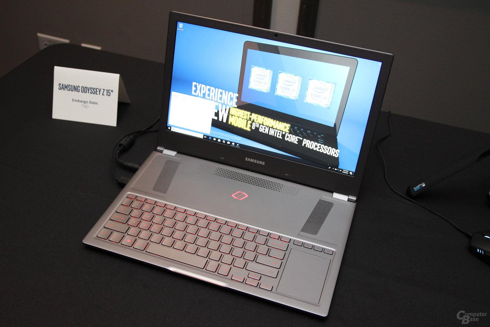Neue Notebooks mit Intel Coffee Lake-H