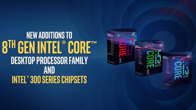 Intel Coffee Lake: Neue Sechs-Kern-CPUs und 300er-Chipsätze offiziell