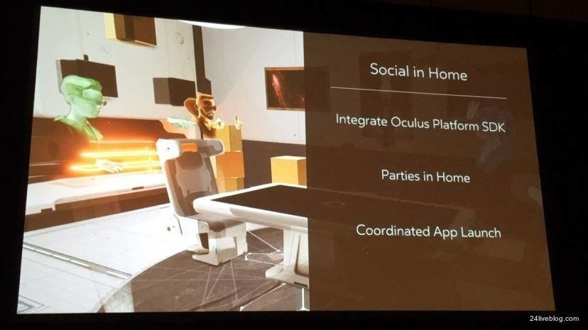 Oculus Home wird sozial