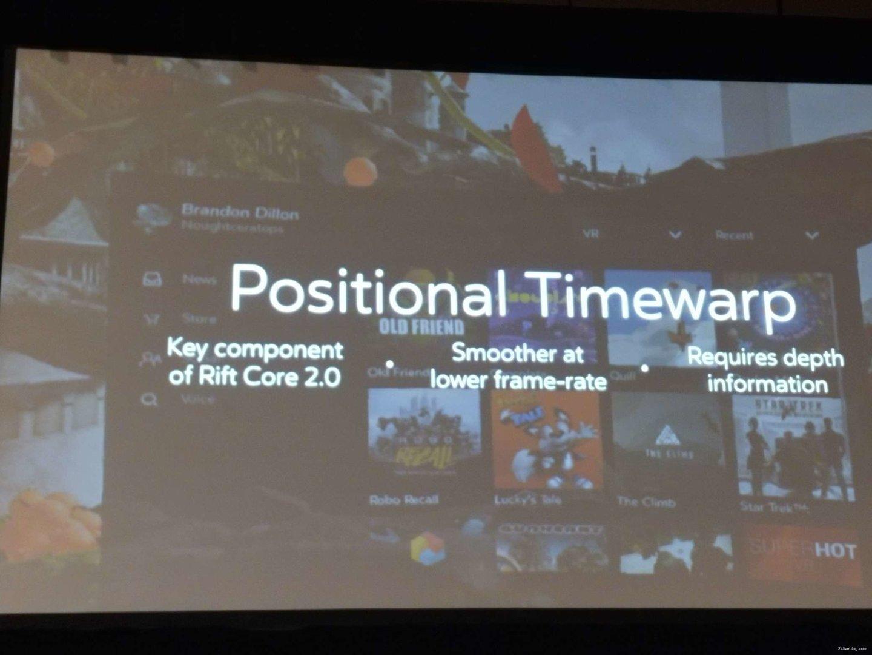 Positional Timewarp