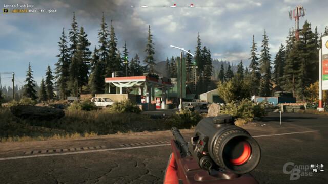 Auch in Far Cry 5 wollen Außenposten erobert werden