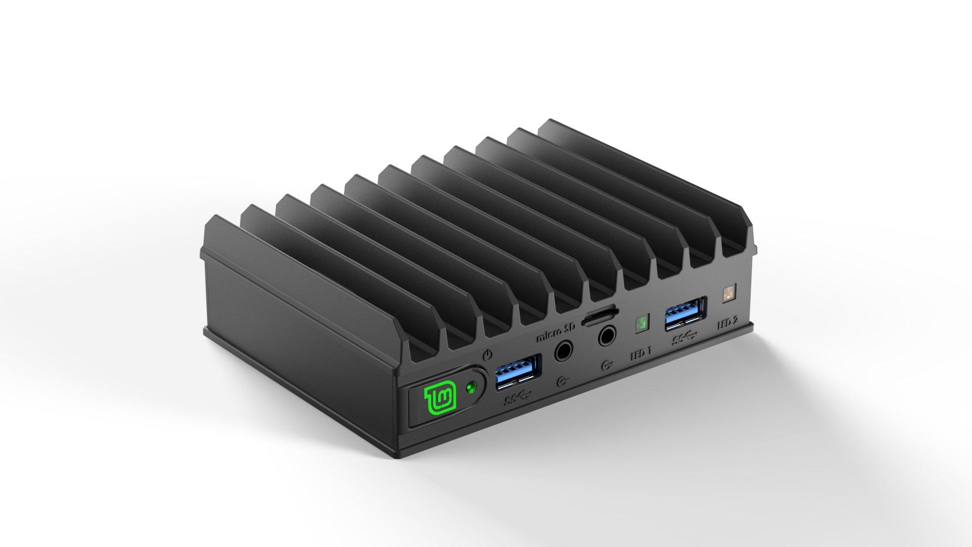 Auch die MintBox Mini 2 (Pro) wird passiv gekühlt