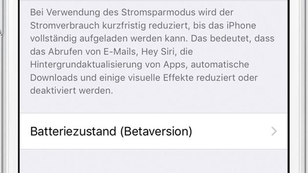 Für iPhone & iPad: Apple iOS 11.3 mit Leistungsverwaltung freigegeben