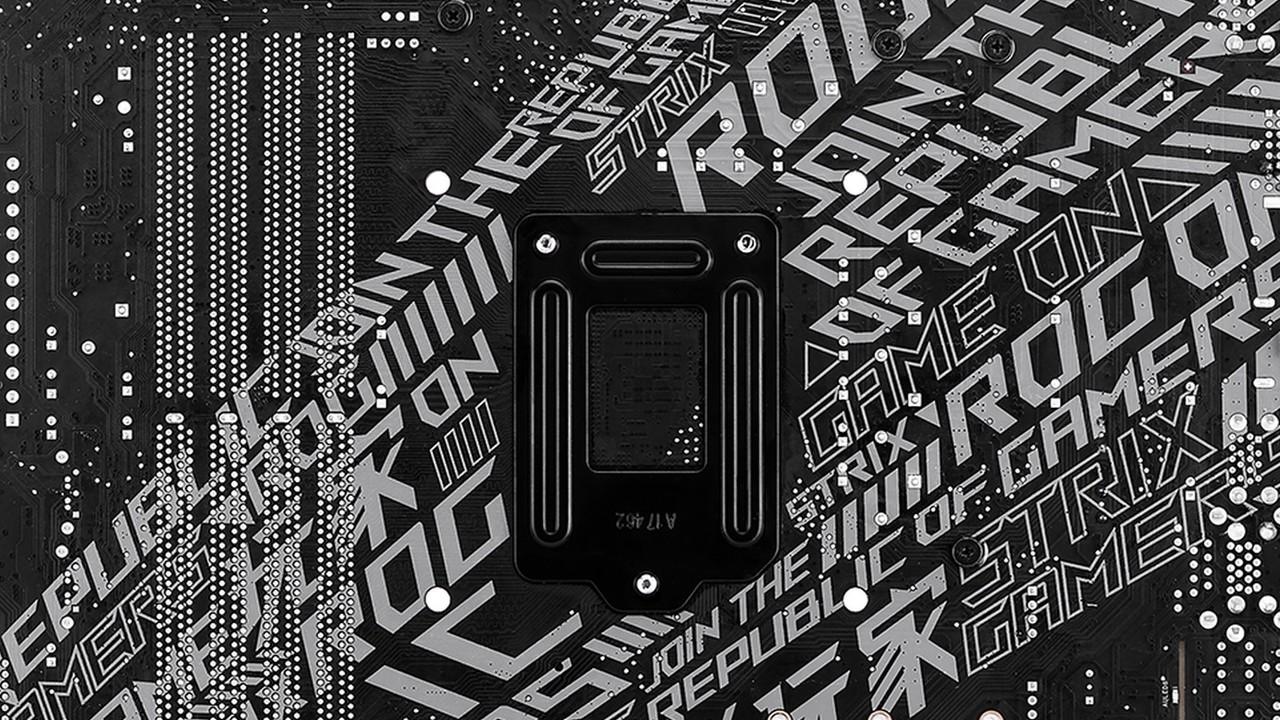 Mainboards für Coffee Lake: Asus entdeckt die PCB-Rückseite als Design-Element
