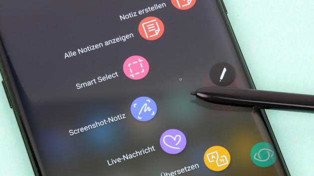 Gerücht: Größeres Galaxy Note 9 ohne Display-Fingerabdrucksensor