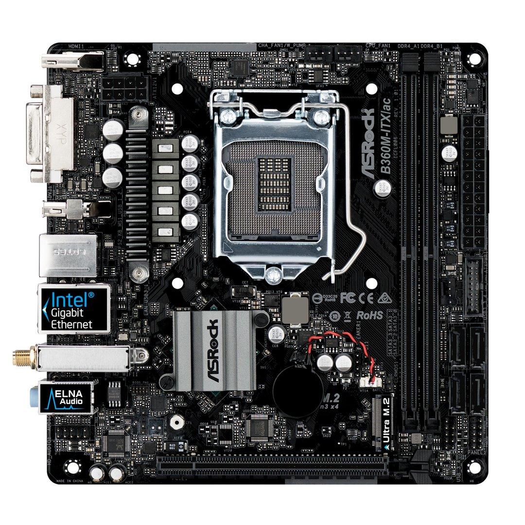 ASRock B360M-ITX ac