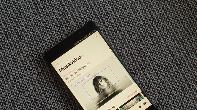 Apple Music: Neue Sektion für Musikvideos schon eingeführt