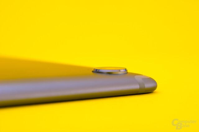 Die leicht hervorstehende Kamera des MediaPad M5