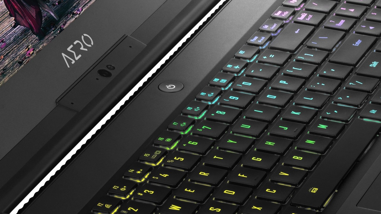 Gigabyte Aero v8: Gaming-Notebooks mit 144 Hz, Coffee Lake und Nvidia Pascal