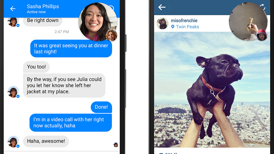 Private Nachrichten: Facebook untersucht Links und Fotos im Messenger