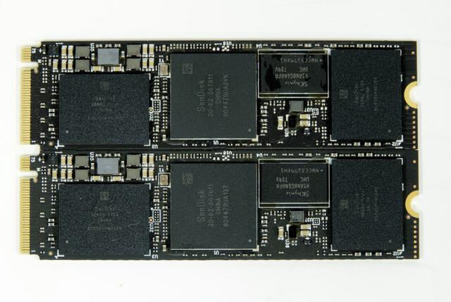DIe Neuauflagen der WD Black und SanDisk Extreme Pro sind baugleich