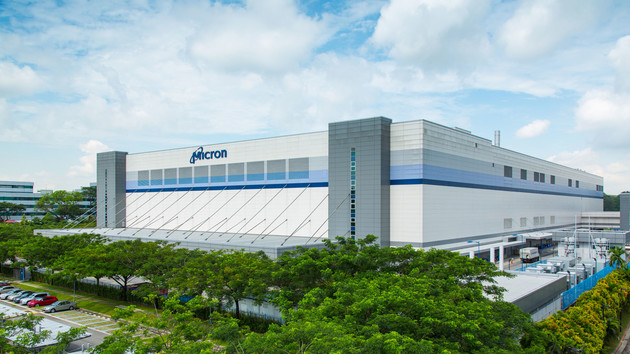 NAND-Flash: Micron steckt weitere Milliarden in Singapur‑Fabrik