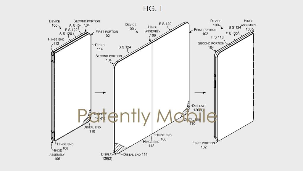 Microsoft Surface: Patent beschreibt faltbares Dual-Display-Smartphone