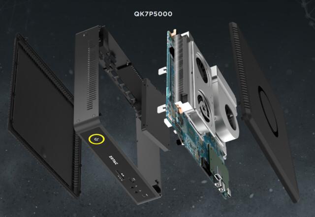 QK7P5000 mit mehr Kühlung für mehr Leistung
