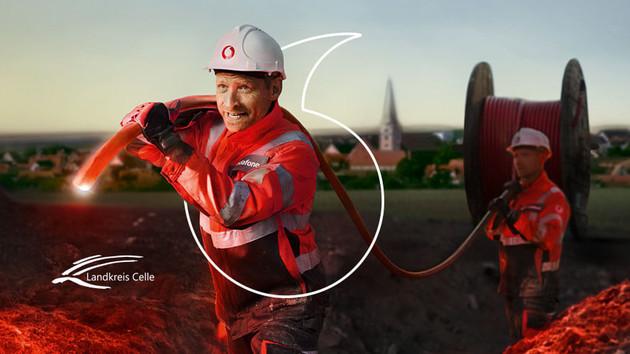 Celle: Vodafone bietet Glasfaser mit 1Gbit/s für 75Euro an