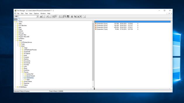 Microsoft: Datei-Manager aus Windows 3.x für Windows 10 verfügbar