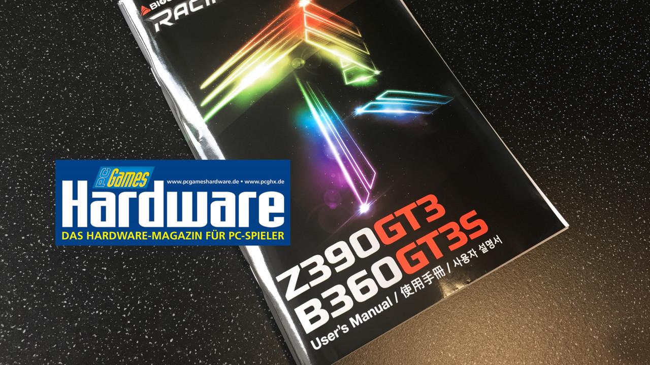 Intel: Biostar kündigt kommenden Z390-Chipsatz im Handbuch an