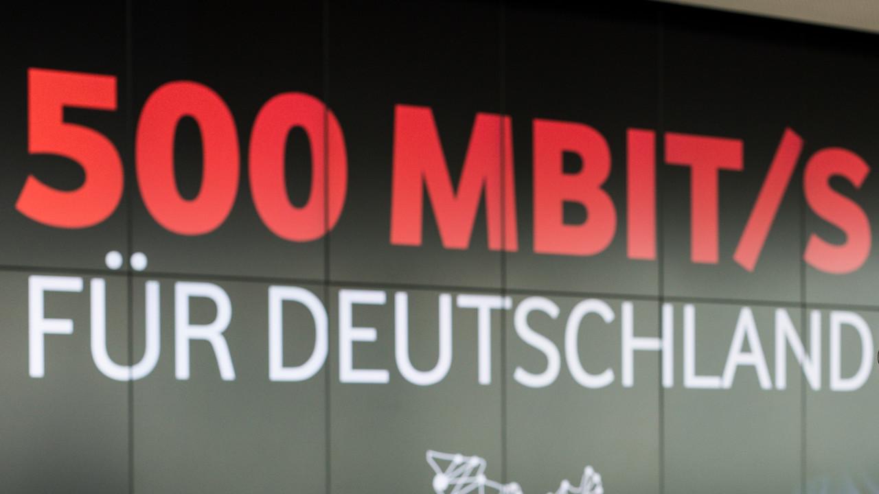 Vodafone: 500Mbit/s für 5,1Millionen Haushalte verfügbar